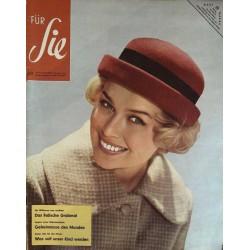 Für Sie Heft 23 / 1 Novemberheft 1958 - Modischer Hut