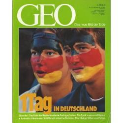 Geo Nr. 10 / Oktober 1992 - 1 Tag in Deutschland