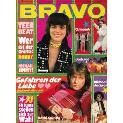 BRAVO Nr.10 / 1 März 1973 - Teenbeat, David Cassidy, Osmonds