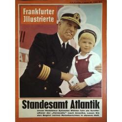 Frankfurter Illustrierte Nr.38 / 17 September 1961 - Standesamt Atlantik