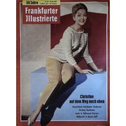 Frankfurter Illustrierte Nr.20 / 20 Mai 1962 - Christine Kaufmann