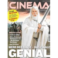 CINEMA 12/03 Dezember 2003 - Herr der Ringe das Finale