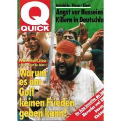 Quick Heft Nr.4 / 17 Januar 1991 - Das Schwert des Islam