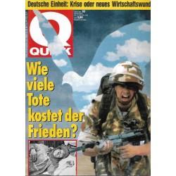 Quick Heft Nr.10 / 28 Februar 1991 - Golfkrieg