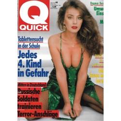 Quick Heft Nr.48 / 22 November 1990 - Mitten in Deutschland