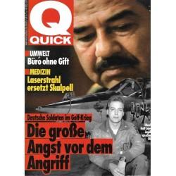 Quick Heft Nr.3 / 10 Januar 1991 - Soldaten im Golfkrieg