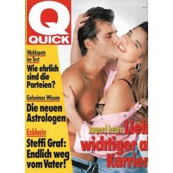 Quick Heft Nr.49 / 29 November 1990 - Jugend heute