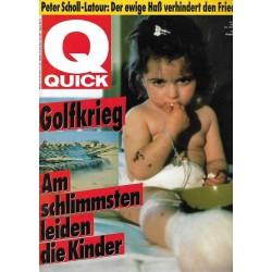 Quick Heft Nr.5 / 24 Januar 1991 - Golfkrieg & die Kinder