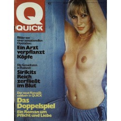 Quick Heft Nr.43  / 14 Oktober 1974 - Belinda Mayne