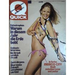 Quick Heft Nr.37 / 2 September 1976 - Pia Fris Jensen