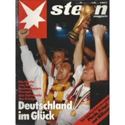 stern Heft Nr.29 / 12 Juli 1990 - Deutschland im Glück