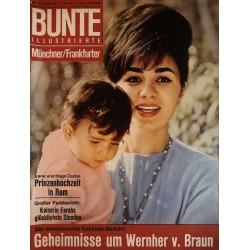 Bunte Illustrierte Nr.20 / 13 Mai 1964 - Kaiserin Farahs