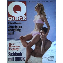 Quick Heft Nr.27 / 3 Juli 1966 - Endlich Urlaub