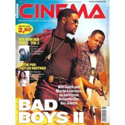 CINEMA 10/03 Oktober 2003 - Bad Boys 2