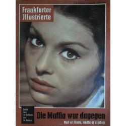 Frankfurter Illustrierte Nr.44 / 29 Oktober 1961 - Daliah Lavi