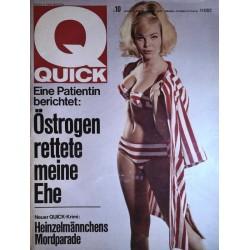 Quick Heft Nr.10 / 6 März 1966 - Maria Brockerhoff