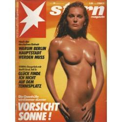 stern Heft Nr.28 / 5 Juli 1990 - Vorsicht Sonne!