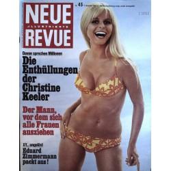 Neue Revue Nr.45 / 9 November 1969 - Davon sprechen Millionen
