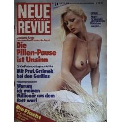 Neue Revue Nr.24 / 5 Juni 1976 - Blonden Mädchen