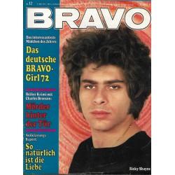 BRAVO Nr.12 / 15 März 1972 - Ricky Shayne