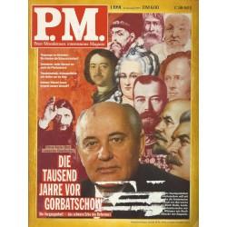P.M. Ausgabe Januar 1/1991 - Die tausend Jahre vor Gorbatschow