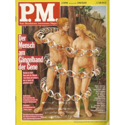 P.M. Ausgabe Februar 2/1991 - Der Mensch am Gängelband der Gene