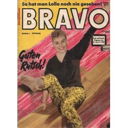 BRAVO Nr.1 / 31 Dezember 1958 - Susanne Cramer