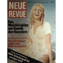 Neue Revue Nr.19 / 6 Mai 1974 - Sex Abenteuer