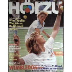 HÖRZU 25 / 24 bis 30 Juni 1989 - Wimbledon