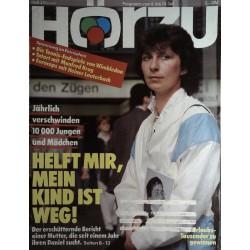 HÖRZU 27 / 8 bis 14 Juli 1989 - Helft mir, mein Kind ist weg!