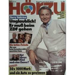 HÖRZU 1 / 6 bis 12 Januar 1989 - Harry Valerien