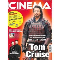 CINEMA 11/03 November 2003 - Der letzte Samurai