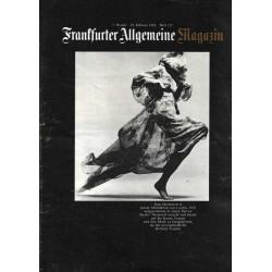 Frankfurter Allgemeine Heft 155 / Februar 1983 - Jean Shrimpton