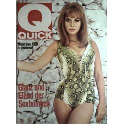 Quick Heft Nr.39 / 26 September 1965 - Sexbomben