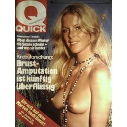 Quick Heft Nr.46 / 7 November 1974 - Die Sonne scheint