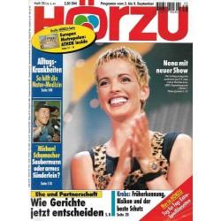 HÖRZU 35 / 3 bis 9 September 1994 - Nena mit neuer Show