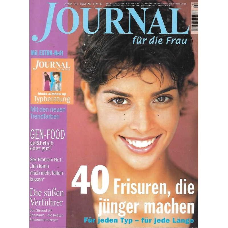 Journal Nr.3 / 21 Januar 1998 - 40 Frisuren die jünger machen