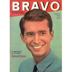 BRAVO Nr.17 / 23 April 1963 - Anthony Perkins