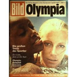 Bild Olympia 1972 - Schwarze Haut im Wasser