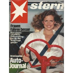 stern Heft Nr.25 / 15 Juni 1978 - Frauen fahren besser