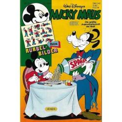 Micky Maus Nr.6 / 1 Februar 1986 - Rubbel Bilder