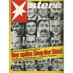 stern Heft Nr.7 / 6 Februar 1992 - Der späte Sieg der Stasi