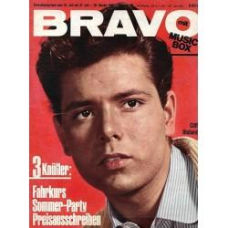 BRAVO Nr.30 / 20 Juli 1965 - Cliff Richard