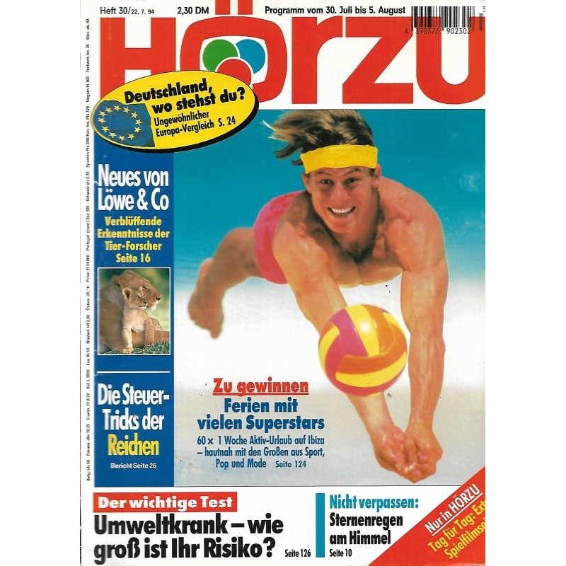 HÖRZU 30 / 30 Juli bis 5 August 1994 - Ferien mit Superstars