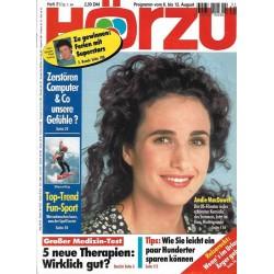 HÖRZU 31 / 6 bis 12 August 1994 - Andie MacDowell