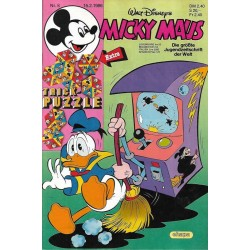 Micky Maus Nr.8 / 15 Februar 1986 - Trick Puzzle