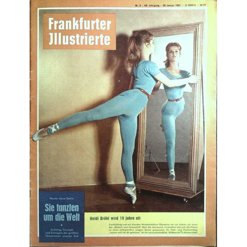 Frankfurter Illustrierte Nr.5 / 28 Januar 1961 - Tanzen