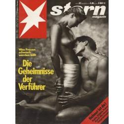 stern Heft Nr.31 / 25 Juli 1991 - Die Geheimnisse der Verführer