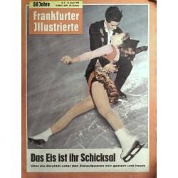 Frankfurter Illustrierte Nr.2 / 14 Januar 1962 - Eislaufpaare