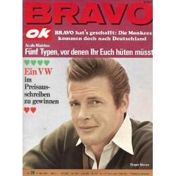 BRAVO OK Nr.20 / 8 Mai 1967 - Roger Moore